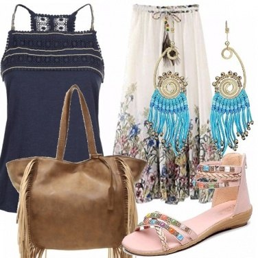 Outfit Woodstock\'s style