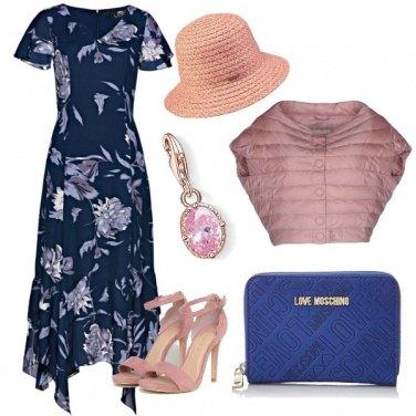 Outfit Dettagli rosa confetto