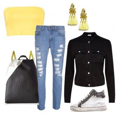 Outfit La borsa/sacca