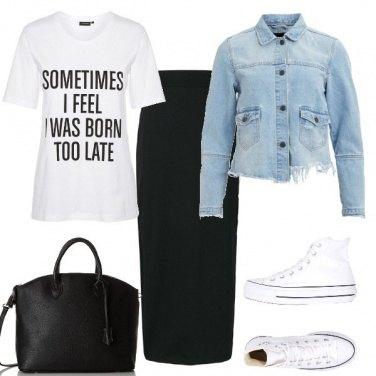 Outfit Tubino e t-shirt