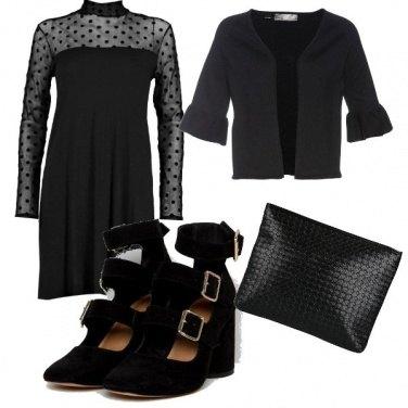 Outfit Pois nero