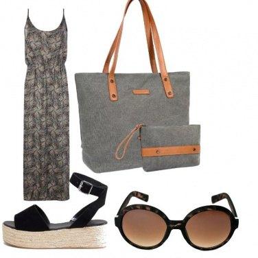 Outfit Lungo con zeppa comoda