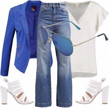 Outfit Armadio base primavera/estate pera