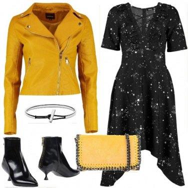 Outfit Rock con l\'abito