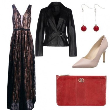 Outfit Glam elegance
