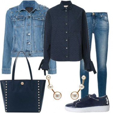 Outfit Blu e jeans