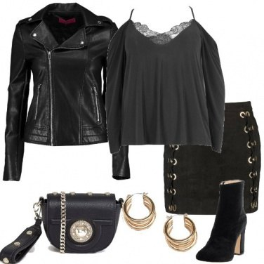 Outfit Curvy Rock