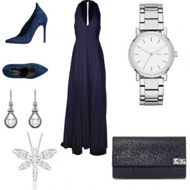 Outfit Matrimonio in blue