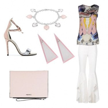 Outfit Modern Pink