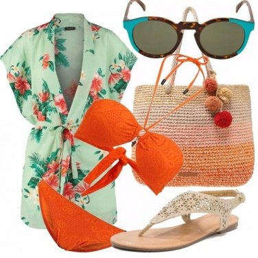 Outfit Ibiscus beach