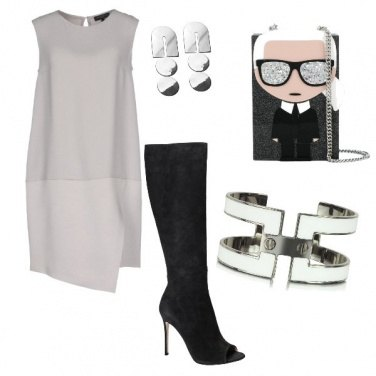 Outfit Tagli glamour
