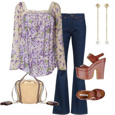 Outfit Hippy rivisitato