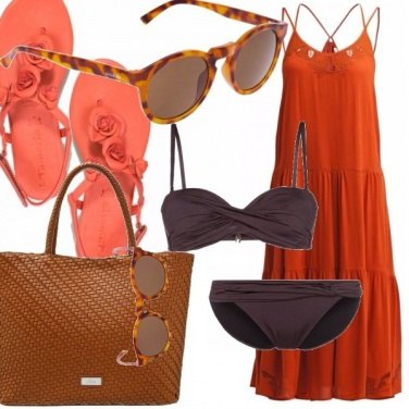 Outfit Chic at the beach!