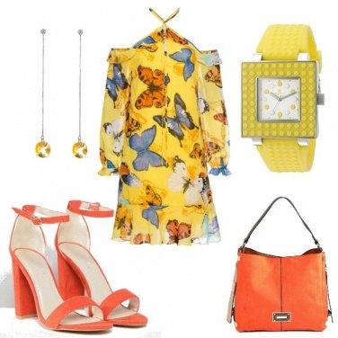 Outfit Un mondo di farfalle