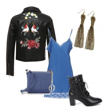Outfit Rock-chic