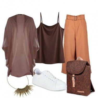 Outfit Scala di Marroni