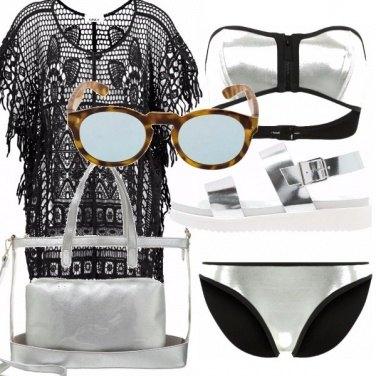 Outfit Effetto metalizzato, e occhiali mr.boho!