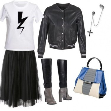 Outfit Fulmine e croce