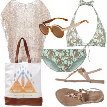 Outfit Hippie in spiaggia