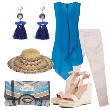 Outfit Blusa asimmetrica