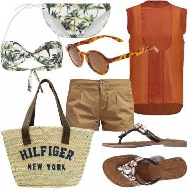 Outfit Arancione palma!