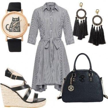 Outfit Quadretti Vichy
