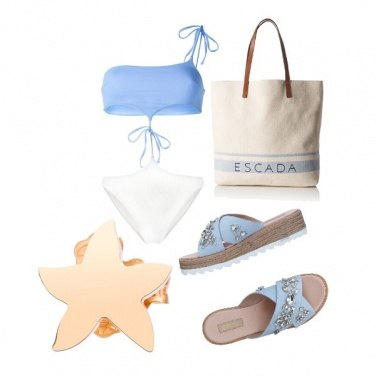 Outfit Azzurro come il mare