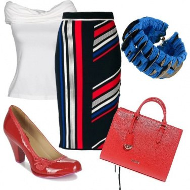 Outfit Pencil skirt