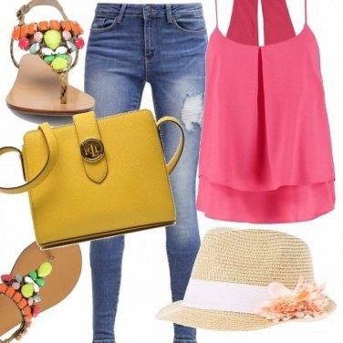 Outfit Profumo di colori!