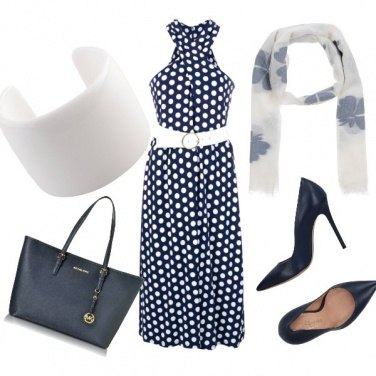 Outfit Una donna a pois