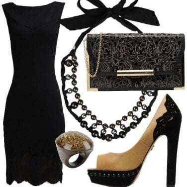 Outfit Black is black!