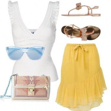 Outfit Chic sul lungomare