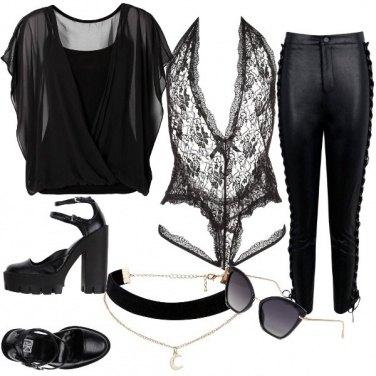 Outfit Solo nero