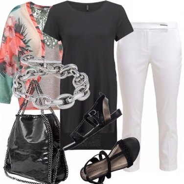 Outfit Bianco, nero & co.