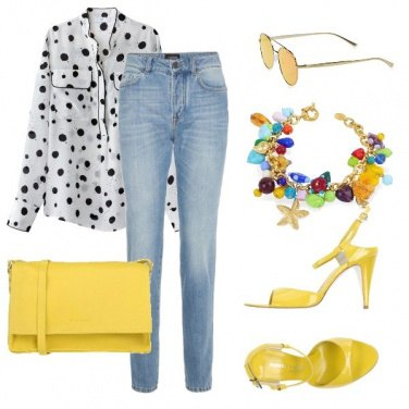 Outfit Yellow time