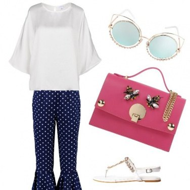 Outfit Shopping a pois