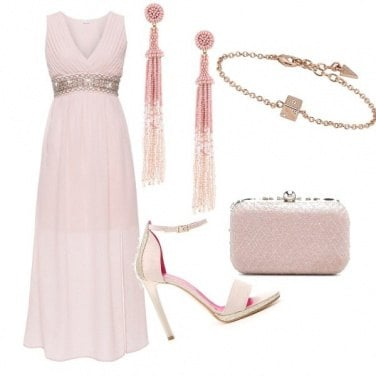 Outfit Chic in Pink
