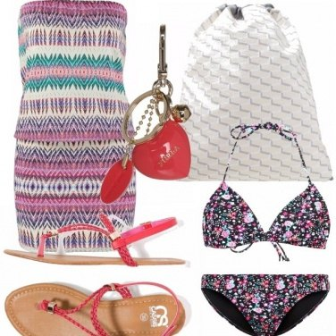 Outfit Colori da spiaggia