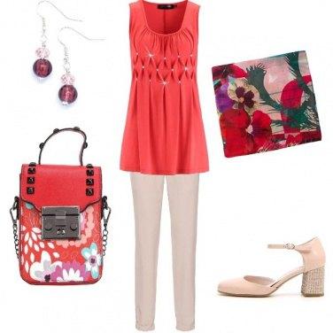 Outfit Rosso e rosa??