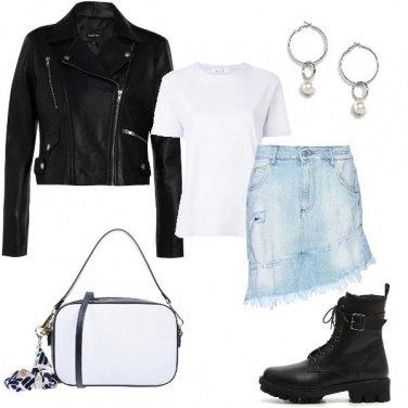 Outfit Perle e anfibi