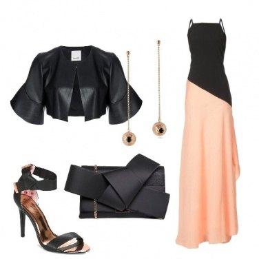 Outfit L'abito bicolor
