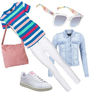 Outfit Rainbow