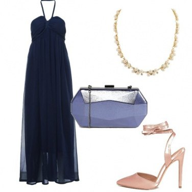 Outfit Ampio e blu