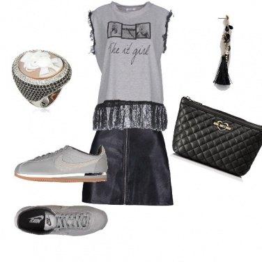 Outfit Sportiva con gusto