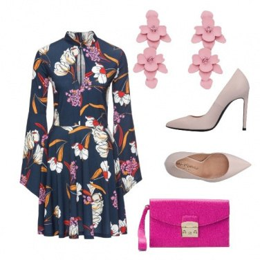 Outfit Flowers pink