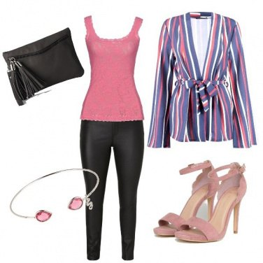 Outfit Rosa non Rosa
