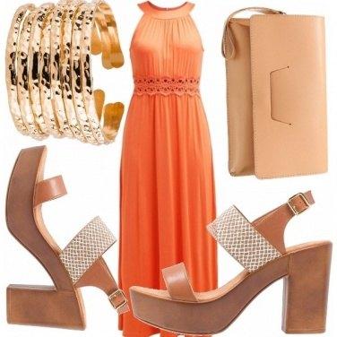 Outfit Arancio etnico!