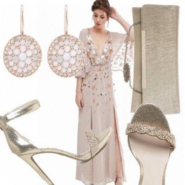 Outfit Cerimonia color oro!