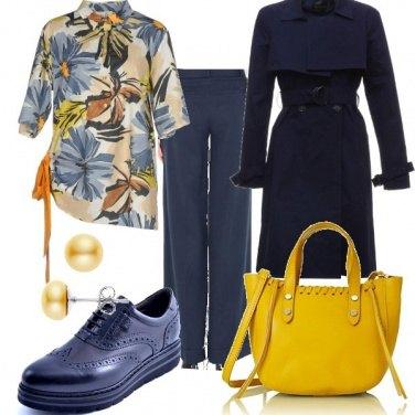 Outfit Borsa gialla