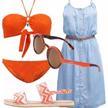 Outfit Arancio vitaminico